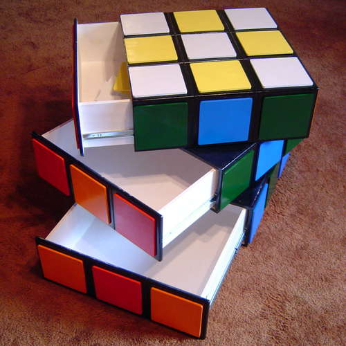 Diy Rubiks Cube Chest Of Drawers