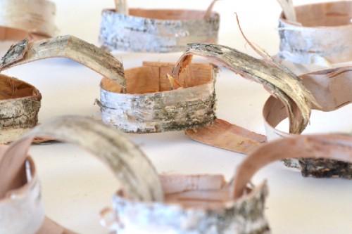birch bark garland (via dreamalittlebigger)