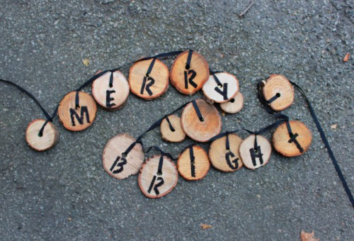 recycled slice garland (via thechicsite)
