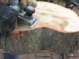 diy-rustic-end-table-from-a-tree-stump-slice-3