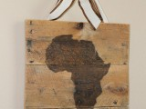 state rustic wall art