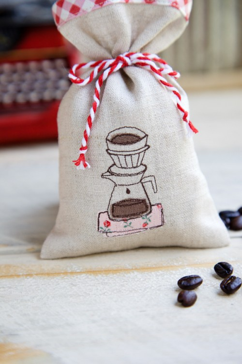 coffee scented sachets