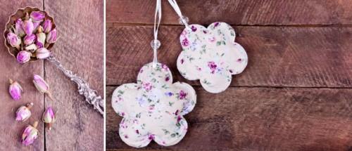 rose scented sachets (via sweetlivingmagazine)