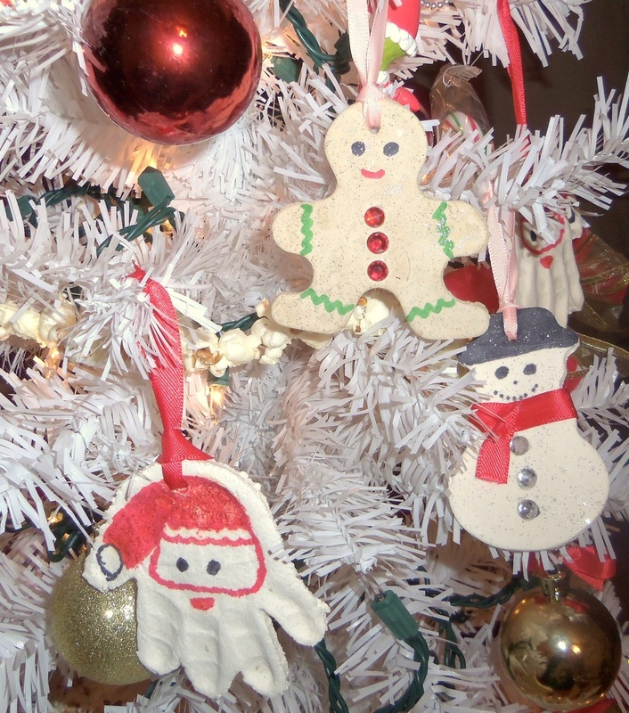 funny salt dough ornaments made by kids