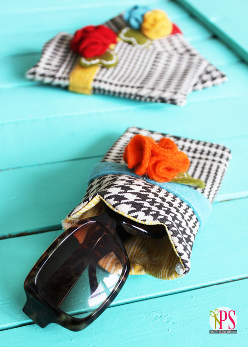 Diy Scalloped Sunglasses Case