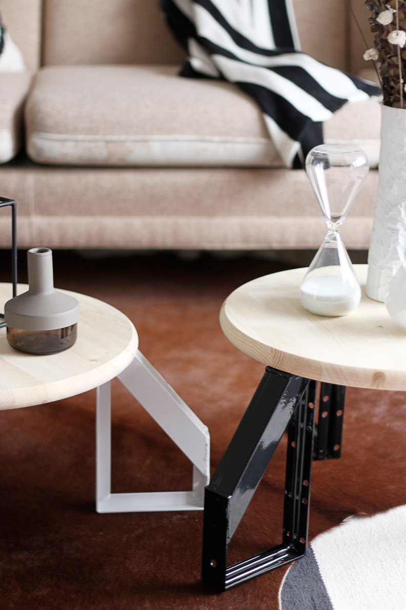 Picture Of diy scandi inspired low profile round table  2