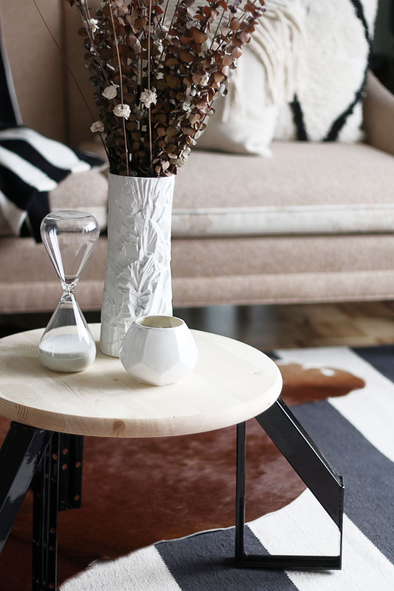 Picture Of diy scandi inspired low profile round table  6