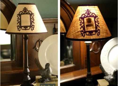 Diy Secret Silhouette Lampshade