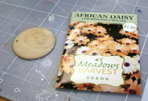 Diy Seed Packet Necklace