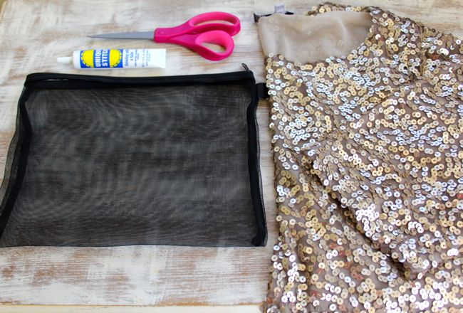 Diy Sequin Clutch For Parties