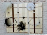 Diy Shabby Chic Head Accessories Holder