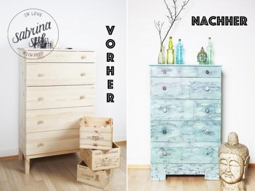 DIY Shabby Chic Vintage Dresser