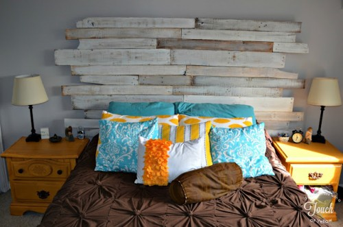 7 diy shabby chic whitewashed headboards