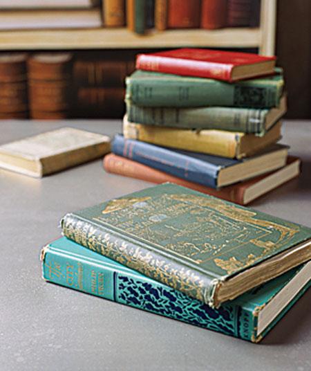 Diy Shelves Made Of Real Books