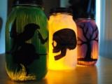 Diy Silhouette Hallowen Lanterns