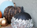 silver leaf pumpkin