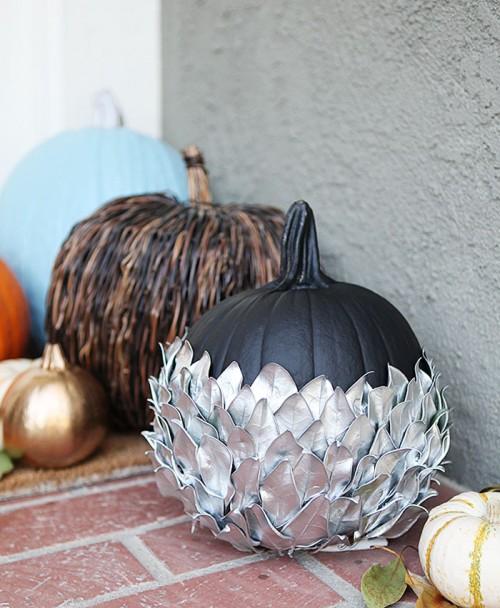 silver leaf pumpkin (via shiftctrlart)