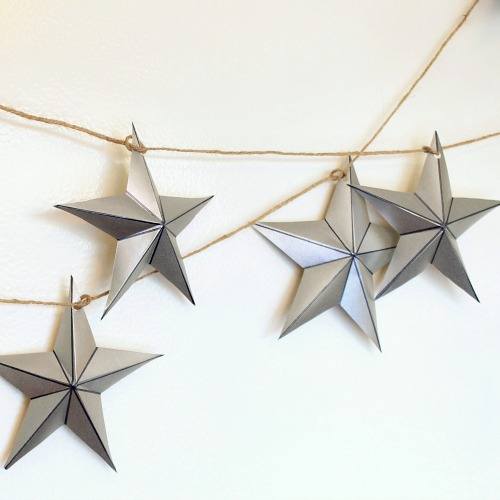 Diy silver decorations and accessories for winter décor