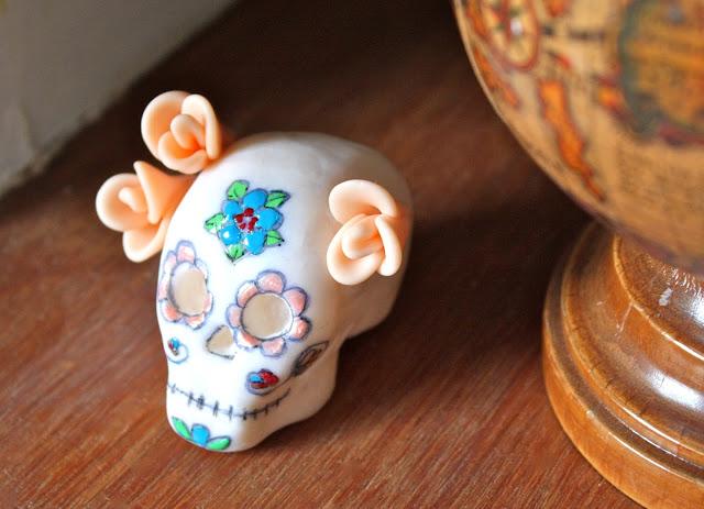 sugary skull decor