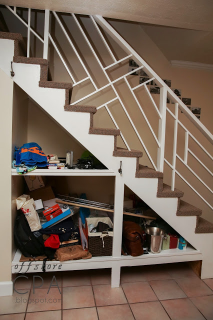 7 Diy Smart Stairs Storage Tutorials Shelterness