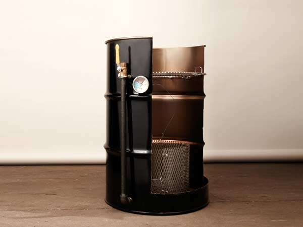 gallon drum smoker
