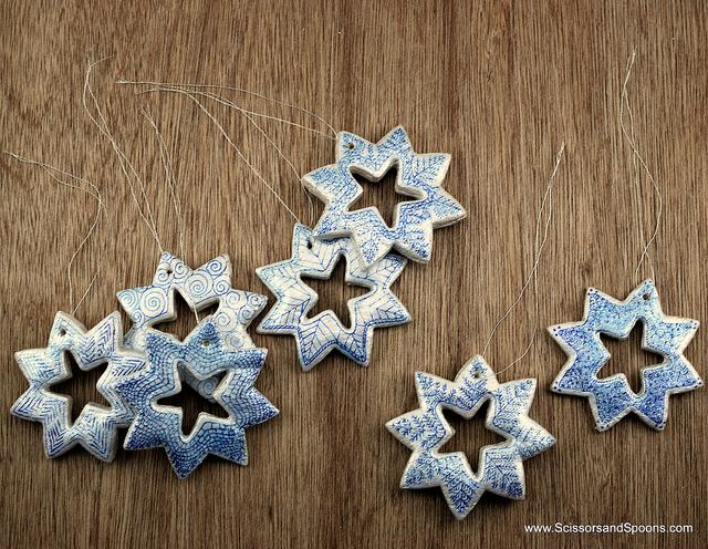 Picture Of Salt dough ornaments