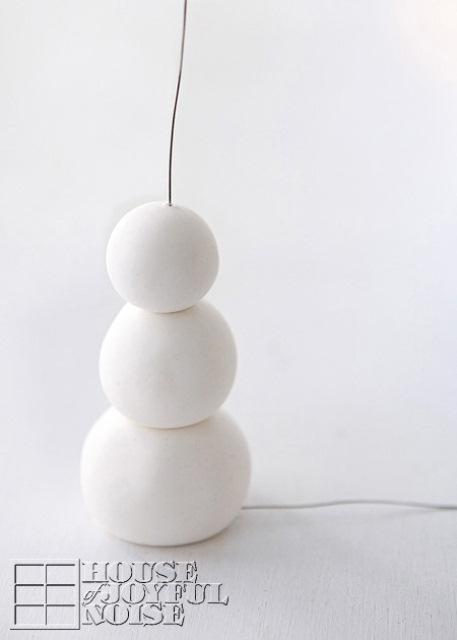 Diy Snowman Christmas Tree Ornament
