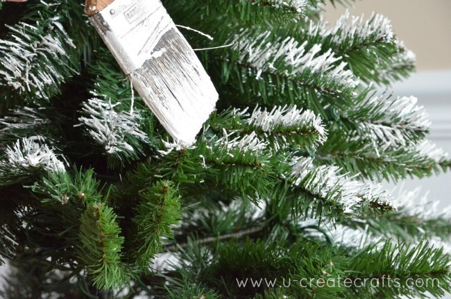 Diy Snowy Decor For Your Christmas Tree