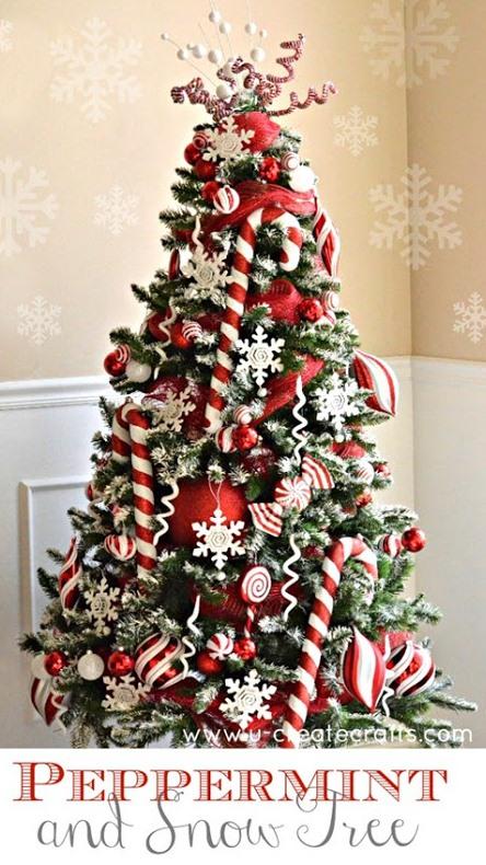 Diy Snowy Decor For Your Christmas Tree