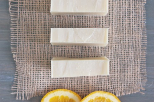 Diy Soap With A Fresh Orange Scent