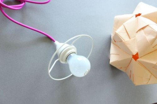Diy Sonobe Ball Lamp From Paper
