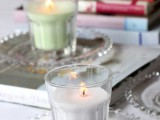 Diy Soy Candles In Bistro Glasses