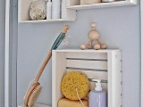 cubby shelving