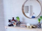 small under the mirror bathroom shelf