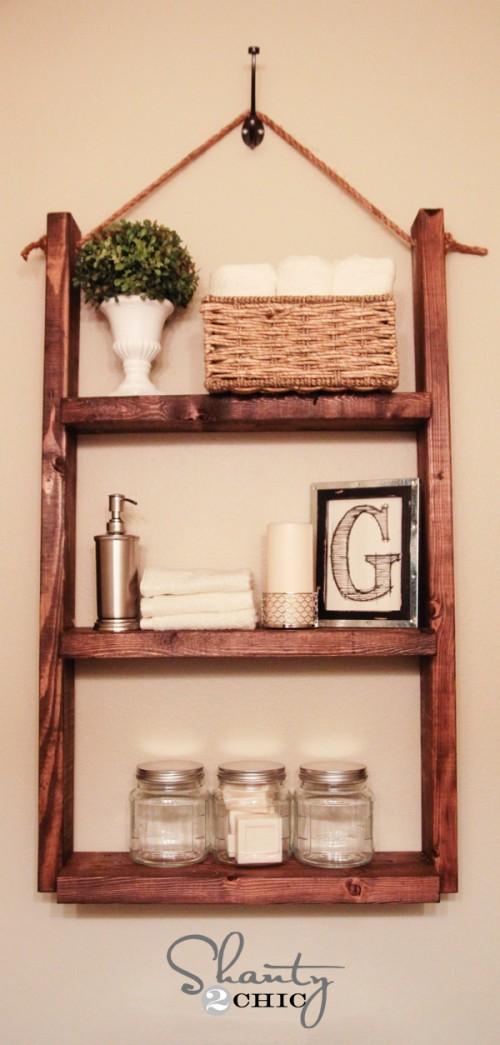 wooden shelf (via shanty-2-chic)