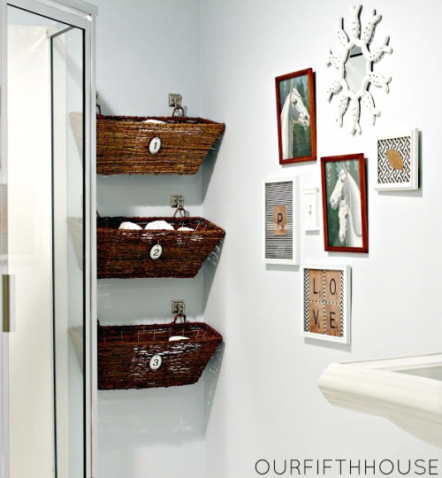 window box bathroom storage (via ourfifthhouse)