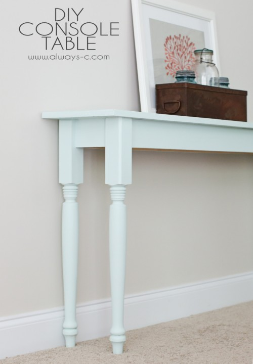 Image Result For Narrow Modern Console Table