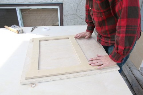 DIY Space Saving Folding Side Table