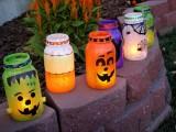 Diy Spooky Outdoor Halloween Lanterns