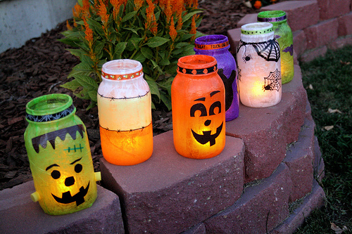 Diy Spooky Outdoor Halloween Lanterns