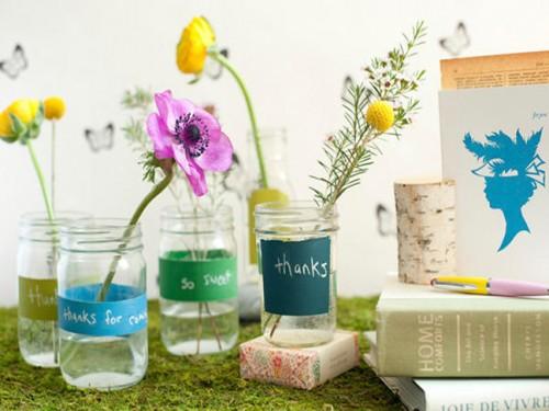 Diy Spring Vases