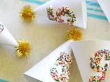 sprinkle party hats