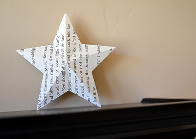 3D paper star (via craftaphile)