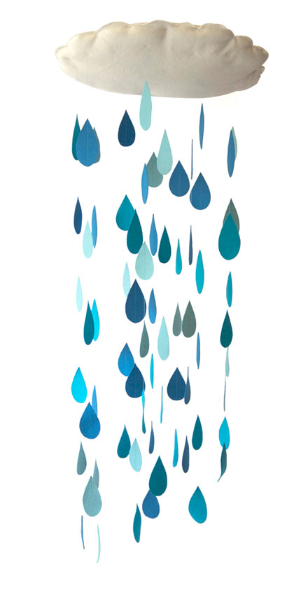 raindrop mobile (via hellolucky)