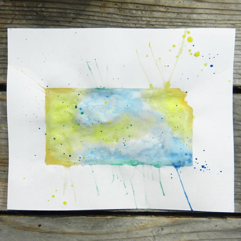 watercolor state art