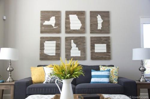 wood board state art (via makeit-loveit)