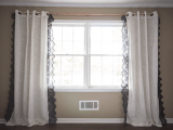 lace statement curtains