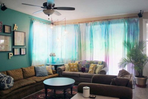 10 DIY Statement Curtains For Your Home Dcor Shelterness
