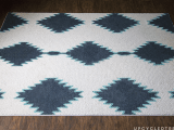 cool patterned rug