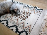 sharpie-colored rug